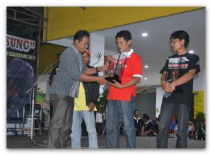 juara kontes kambing tarung pasung